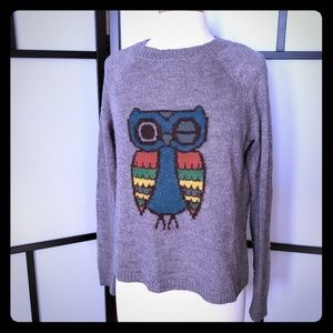 Woolrich ladies Frost Grey Owl lightweight sweater